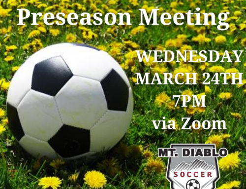 SPRING 6U PARENT PRESEASON MEETING