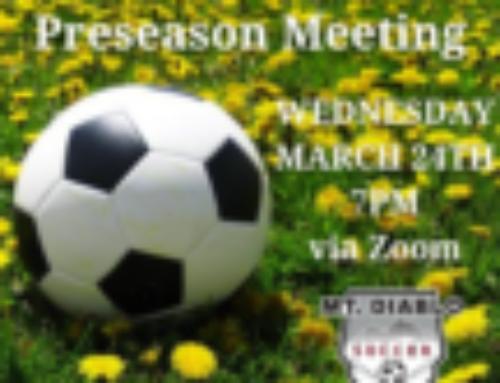 SPRING 6U PARENT PRESEASON MEETING